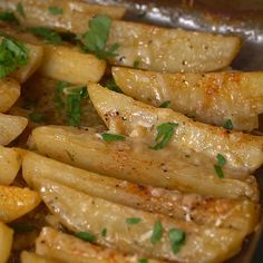 BEST Greek Potatoes ever! potato al horno asadas fritas recetas diet diet plan diet recipes recipes Side Dish Recipes, Vegetable Recipes, Vegetarian Recipes, Dinner Recipes, Cooking Recipes, Healthy Recipes, Cooking Ribs, Cooking Steak, Amish Recipes