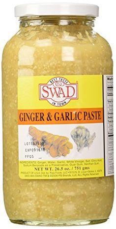 Swad Ginger-garlic Paste - 26.5 Oz