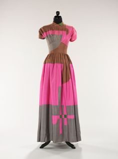Adrian Dinner Dress 1948-49 Brooklyn Museum Costume Collection at the Met