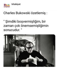 Görüntünün olası içeriği: 1 kişi, güneş gözlüğü ve yazı Cute Quotes For Instagram, Instagram Words, Beautiful Mind Quotes, Caption For Yourself, Poetic Words, Magic Words, Lets Do It, Charles Bukowski, My Mood