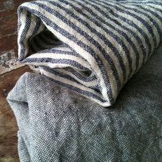 Image of Fog Linen Thick Chambray Bath Towel