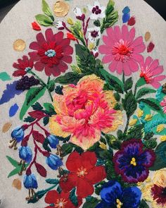 Website has enlargement Nasturtium tapestry kit from Elizabeth Bradley. Not the colors I have anywhere in my home . will have to create a space! Needlepoint Designs, Needlepoint Pillows, Needlepoint Stitches, Needlepoint Kits, Needlework, Tapestry Kits, Textile Fiber Art, Hand Painted Canvas, Easy Watercolor