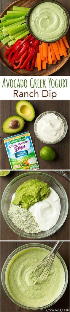 ¿No tienes ideas para sustituir al hummus? Una buena solución es esta crema de aguacate con yogurt griego.
