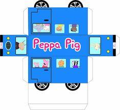 peppa pig Kit digital para imprimir - Peppa e George Pig Pig Birthday, Cars Birthday Parties, Molde Peppa Pig, Peppa Pig Painting, Peppa Pig Printables, George Pig, Handmade Thank You Cards, Pig Party, Paper Toys