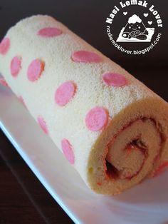 Nasi Lemak Lover: Decorated Polka Dot Swiss Roll 圆点蛋糕卷