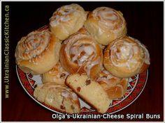 Ukrainian - Cheese Spiral Buns