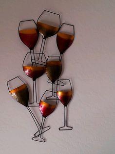 Wine Wall Decor #winedecor
