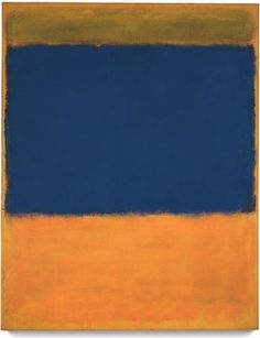American painter Mark Rothko (1903-1970) - Abstract Expressionism