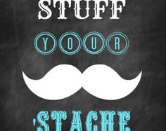 WET YOUR WHISKERS Printable for Mustache Bash by BelleviewCottage