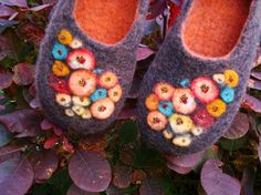 lovely felted slippers