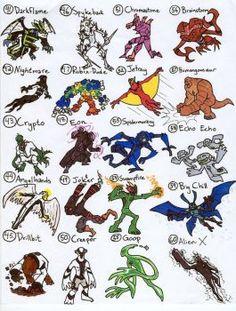 top ten ben 10 aliens names and pictures ben 10 ben 10 names