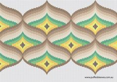 Free Bargello charts for you.