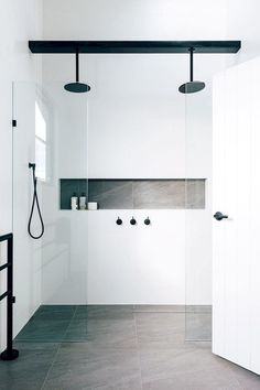 More click [.] Bathroom Shower Design Beautiful Emily Henderson Bathroom Trends 2019 Pioneer Craftsmen 10 Of The Most Exciting Bathroom Design Trends For 2019 Bathroom Trends, Bathroom Renovations, Bathroom Inspo, Remodel Bathroom, Bathroom Designs, Bling Bathroom, Bathroom Accents, Bathroom Goals, Bad Inspiration