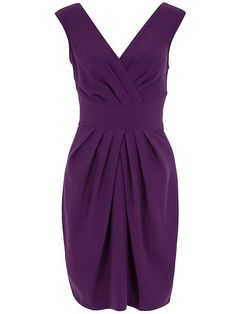 Designed and made in London. The perfect evening dress, smooth purple fabric draped around the bust and the hips for an elegant but sexy party frock. Brand : A… Purple Party Dress, Purple Cocktail Dress, Sexy Party Dress, Cocktail Dresses, Purple Maxi, Sexy Maxi Dress, Maxi Dress With Sleeves, Dresses Short, Sexy Dresses