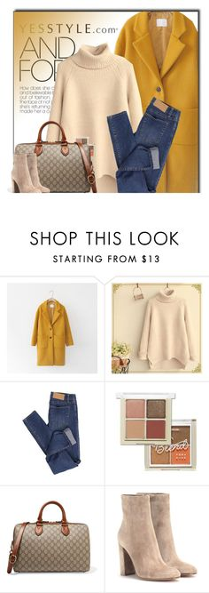 """""""YESSTYLE.com"""" by monmondefou ❤ liked on Polyvore featuring Cherrykoko, Fairyland, Cheap Monday, Etude House, Gucci, Gianvito Rossi, women's clothing, women, female and woman"""