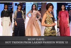 Must Haves: 5 Hottest Trends From Lakme Fashion Week 15