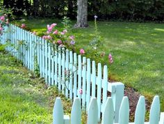 storybook picket fence