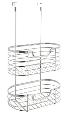 2 Tier Over-the-Cabinet Organizer Rack