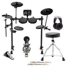 Millenium MPS-250 USB E-Drum Set Bundle #Thomann