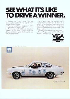 1973 ad: Chevy Vega