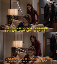 "Modern Family season 4. Hayley, ""My whole life is a hunger game."""