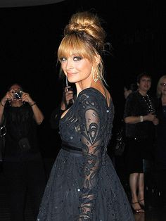Nicole Richie makes a gorgeous arrival at the 2012 FiFi Awards – which honors accomplishments in the fragrance world – Monday night at New York's Lincoln Center.
