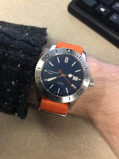 [Christopher Ward] This is my diver via /r/Watches
