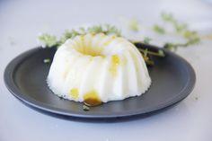 Semifrio-de-iogurte-natural... Uma viagem ao mundo dos sabores perfumada com verbena (lúcia-lima) fresca