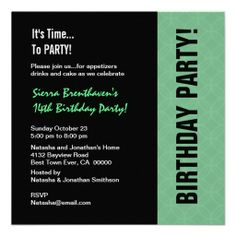 58 best 14th birthday party invitations images in 2018 14th