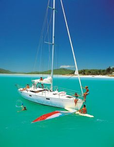 Help deliver a yacht and sail for free #howto #queensland #sailing