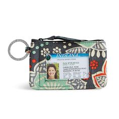 Vera Bradley Zip ID Case Nomadic Floral ** Read more reviews of the product by visiting the link on the image.