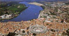 Arles - Rhone River