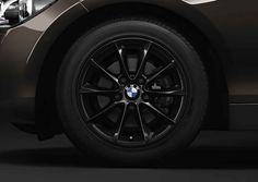 BMW 1 Series 3-door, 116i, Winter complete wheel sets 16'' light-alloy wheel, V-spoke 411
