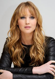 Loving on this make-up  Jennifer Lawrence