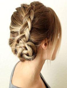 Easy Braided Hairstyles for Medium Length