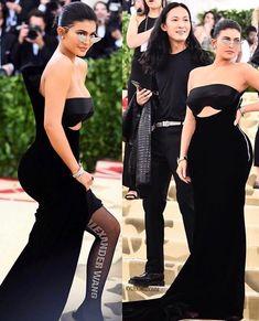 Kylie jenner in Met Gala Kylie Jenner Met Gala, Kylie Jenner Makeup, Kylie Jenner Style, Kendall And Kylie Jenner, Kardashian Jenner, Kardashian Family, Travis Scott, Kylie Travis, Kendall And Kourtney