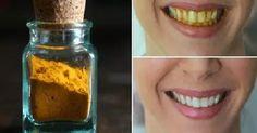 Come sbiancare i denti in 3 minuti con la curcuma