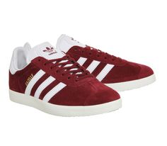 Collegiate Burgundy/White Gazelle