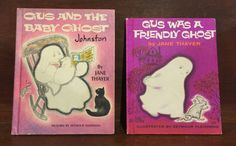 Gus Was A Friendly Ghost  and  Gus and the Baby Ghost by ReadeemedBooks on Etsy