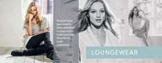 A coleção de Loungewear, da marca Hering For You tem saias, vestidos,calças, shorts, blusas, resgatas e casacos.  Fonte:http://www.heringforyou.heringwebstore.com.br/
