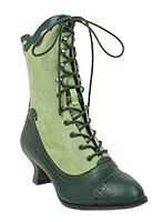 Miss L Fire Victoriana Boot