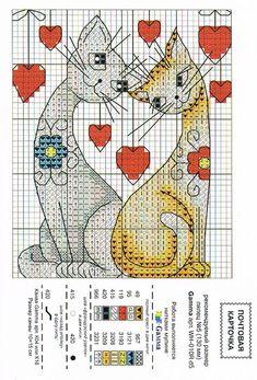 Почтовые карточки со схемами вышивки: vnu4ka — ЖЖ