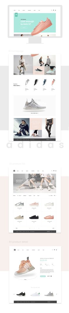 Web Design for Adidas Shoes on Behance http://ecommerce.jrstudioweb.com/ http://ecommerce.jrstudioweb.com/ http://ecommerce.jrstudioweb.com/