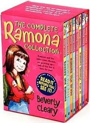 Ramona series by Beverly Cleary. Loved these books as a child.