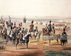 french-cavalry-during-first-empire-by-wilhelm-von-kobell-watercolour-illustration-id153415718 (1024×810) Watercolor Illustration, Watercolour, Napoleonic Wars, Camel, Empire, French, Painting, Animals, Image