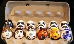 Star Wars Easter Eggs :) I am going to do these in our home this Easter