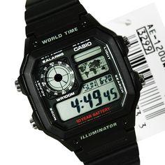 Casio Men's AE-1200WH-1AVCF Solar Watch Giá mới:  531.000 đ Giá cũ:  885.000 đ Link tham khảo: http://www.9am.vn/casio-mens-ae-1200wh-1avcf-solar-watch.html