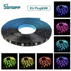 Smartes LED Band in guter Qualität zum kleinen Preis Beleuchtung, Innenbeleuchtung, Spezial- & Stimmungsbeleuchtung, LED Streifen Wi Fi, Ruban Led Rgb, Led 220v, Bandeau Led, Led Band, Neon Led, Led Stripes, App, Dimmable