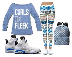 Untitled #112 by hope2cute4yall on Polyvore featuring Just One, Vans and NIKE