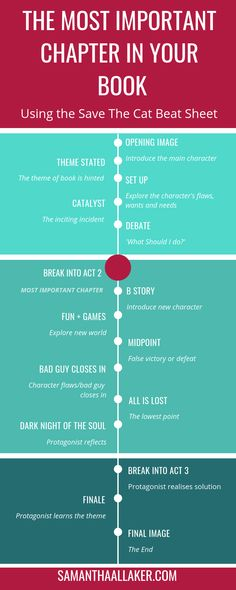 The MOST Important Chapter In Your Story HINT: It's Not Chapter 1 - SAMANTHA ALLAKER - - This is the MOST important chapter in your book. Because if done wrong, you risk losing your readers' interest and they will stop reading your book.